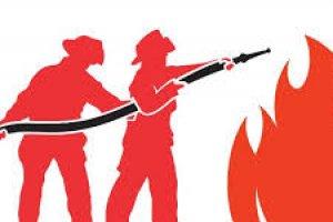 Combate a incêndios e evacuação
